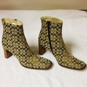 Coach Brianna Ankle Boots (6 1/2)